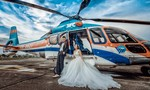 Ngất ngây trước bộ ảnh cưới trong trực thăng 300 tỷ của đạo diễn Phúc Nhân