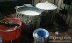Phát hiện cơ sở sản xuất dùng thạch cao làm phụ gia chế biến đậu hủ