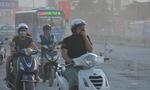 Thảm cảnh trên con đường bụi mù mịt ở Sài Gòn