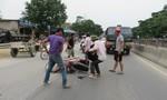 Xe máy tông xe ngựa, hai người nguy kịch