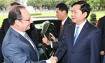 Bí thư Thành ủy Đinh La Thăng: TP.HCM sẽ tạo mọi điều kiện thuận lợi cho doanh nghiệp Pháp tại thành phố