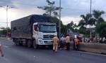 Xe tải va chạm với xe máy, một người tử vong