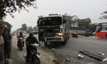 Hai xe tải tông nhau ngày đầu năm trên quốc lộ 1A