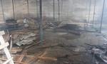 Cháy lớn xưởng gỗ, nhiều tài sản bị thiêu rụi