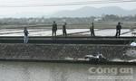 Băng qua đường sắt, một phụ nữ bị tàu đâm tử vong