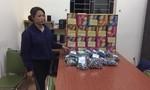 Bắt một phụ nữ mang thai vận chuyển 39kg pháo nổ