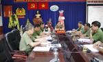 Ban giám đốc CATP chúc Tết công an quận Tân Bình