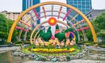 Gấp rút hoàn thành Đường hoa Nguyễn Huệ 2017
