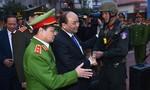 Thủ tướng Chính phủ thăm Bộ Tư lệnh Cảnh sát cơ động