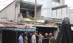 Nhà 2 tầng bốc cháy ngày cận Tết, nhiều người hoảng loạn