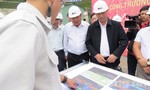 Thứ trưởng Bộ GTVT kiểm tra công trình hầm đường bộ Đèo Cả ngày cận Tết