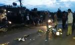 Hai xe máy tông nhau, 6 người bị thương nặng