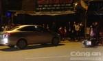 Xe ô tô tông 'bay' xe máy trong đêm mùng 3 Tết