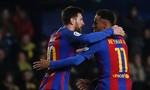 Messi lập siêu phẩm cứu thua cho Barca ở phút 90