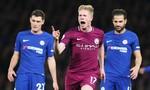 Chelsea thua tâm phục khẩu phục Manchester City trên sân nhà