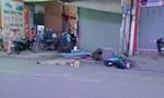 Tài xế GrabBike chết thảm dưới bánh xe container