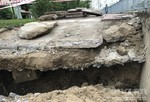 Sụp lún nghiêm trọng ven kênh Nhiêu Lộc - Thị Nghè