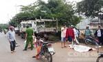 Tông vào xe tải đậu bên đường, người đàn ông tử vong tại chỗ