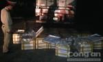 CSGT Thanh Hóa phát hiện xe tải chở 1 tấn thực phẩm hôi thối