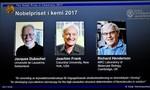 Nobel hóa học về tay 3 nhà khoa học phát triển kính hiển vi điện từ cryo