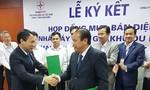 Nhà máy điện gió Khai Long-Cà Mau  ký hợp đồng mua bán điện