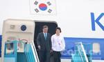 Tổng thống Hàn Quốc cùng phu nhân đến Đà Nẵng dự APEC