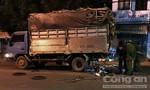 Tông vào xe tải đang dừng thay lốp bên đường, nam thanh niên tử vong