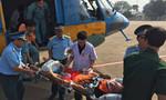 Trực thăng đưa ngư dân bị đột quỵ tại đảo Trường Sa về TP.HCM cấp cứu