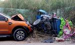 Xe bán tải tông xe ba gác, 2 người thương vong