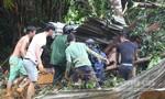 Đau lòng sạt lở núi, vùi lấp khiến 5 người tử vong
