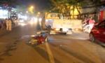 Xe tải va chạm xe máy, 2 người thương vong