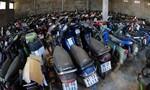 Công an quận 4 tìm chủ sỡ hữu 418 xe gắn máy