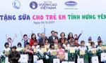 Quỹ sữa Vươn cao Việt Nam đem niềm vui đến với trẻ em Hưng Yên