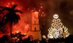 39 người bị thương trong lễ hội pháo hoa đêm Giáng sinh