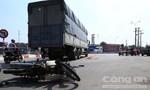Bình Dương: Cụ ông đi đám giỗ bị xe tải cán tử vong