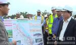 Phó thủ tướng Trịnh Đình Dũng kiểm tra công trình thi công tuyến cao tốc Đà Nẵng- Quảng Ngãi