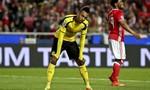 Aubameyang vô duyên, Dortmund thua trận