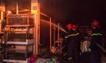 Cháy lớn tại đại lý hải sản lúc sáng sớm