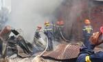 Cháy nhà máy của Công ty ôtô Trường Hải tại Chu Lai
