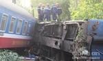Hiện trường tàu hỏa trật đường ray, khiến 3 người tử vong ở Huế