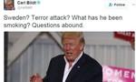 Trump 'vạ miệng' khi ám chỉ Thụy Điển bị tấn công