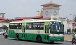 TP.HCM: 25 tuyến xe buýt thay đổi lộ trình để thi công ga Bến Thành