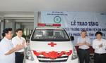 Bàn giao xe cứu thương cho Bệnh viện đa khoa huyện Phước Long, Bạc Liêu