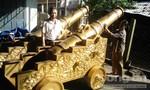 Đúc thành công cặp súng thần công giữ nguyên mẫu triều Nguyễn