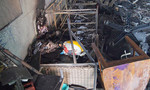 Bên trong ngôi nhà bị lửa thiêu rụi làm 4 người chết