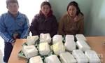 Bắt nhóm đối tượng vận chuyển 15kg ma túy xuyên biên giới