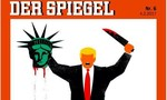 Tạp chí Đức gây tranh cãi với ảnh bìa Trump chặt đầu Nữ thần Tự do