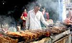 Người bán cá lóc nướng 'trúng đậm' trong ngày vía Thần Tài