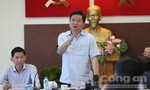 Bí thư Đinh La Thăng: 'Công an Q.2 phải tập trung kéo giảm tội phạm, TNGT'