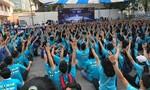 """Hơn 2.000 bạn trẻ nhảy Flashmob hưởng ứng chiến dịch """"Giờ Trái Đất 2017"""""""